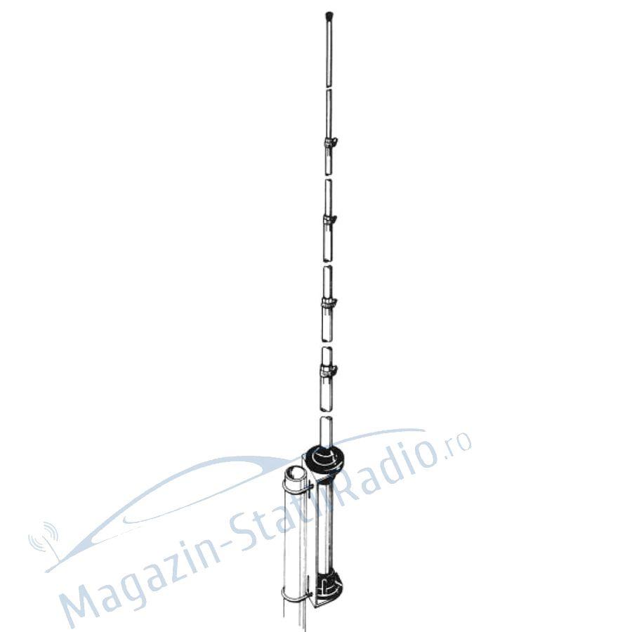 Antena CB Albrecht GPA 27, 550cm putere 1000w pentru cladiri
