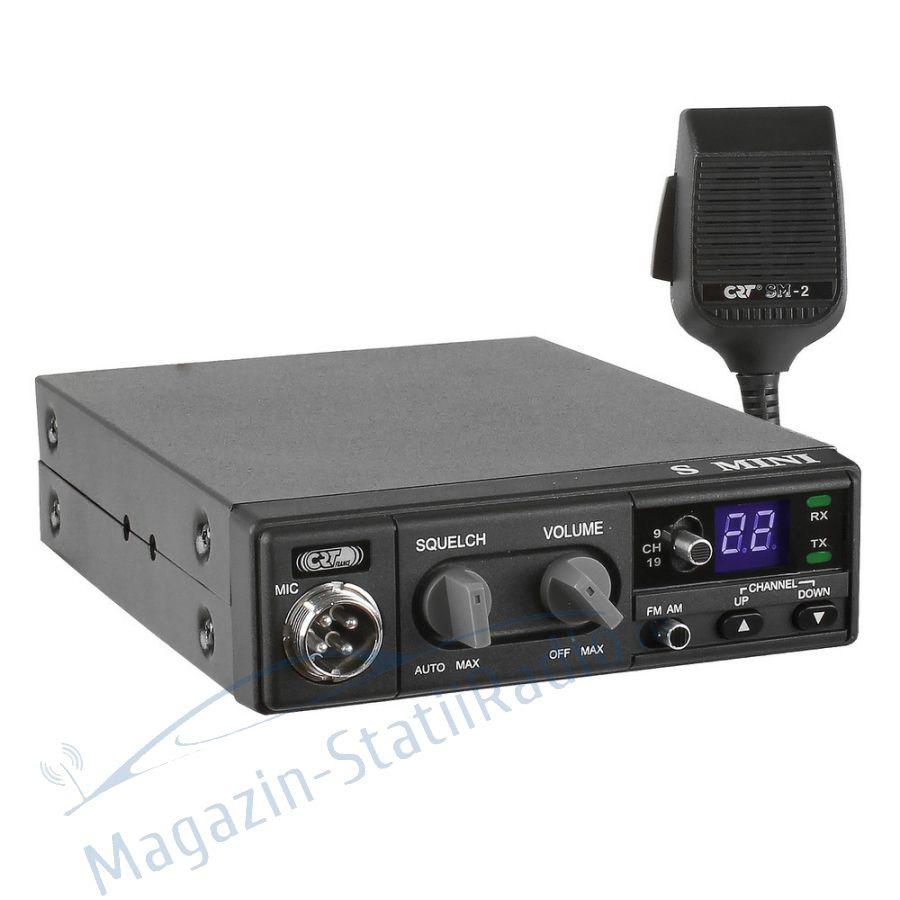 Statie Radio CB CRT S MINI II ASC, Versiune noua V3