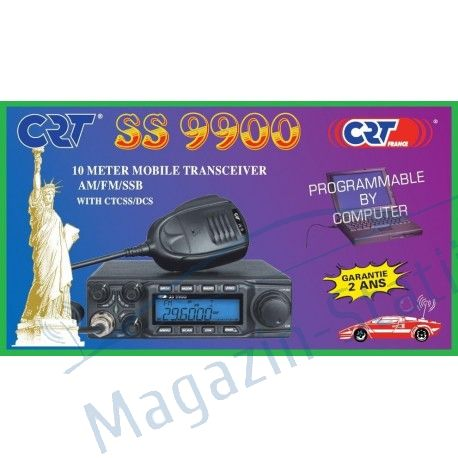 Statie Radio CRT SUPERSTAR 9900, banda 10m