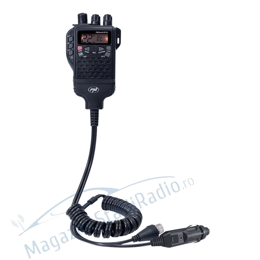 Kit Statie radio portabila PNI HP 62 ASQ si Antena PNI Extra 48
