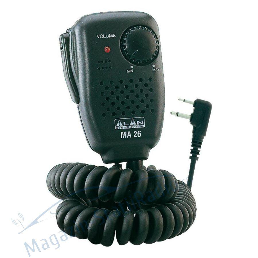 Microfon cu difuzor Midland MA 26-L
