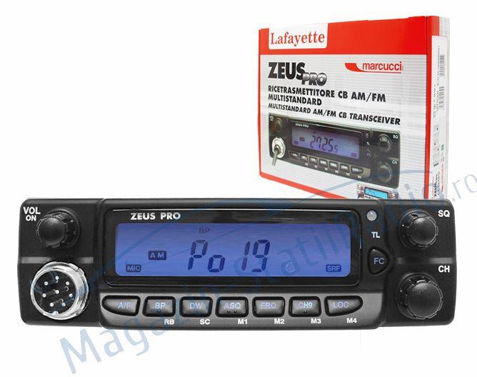 Statie Radio CB Lafayette Zeus Pro