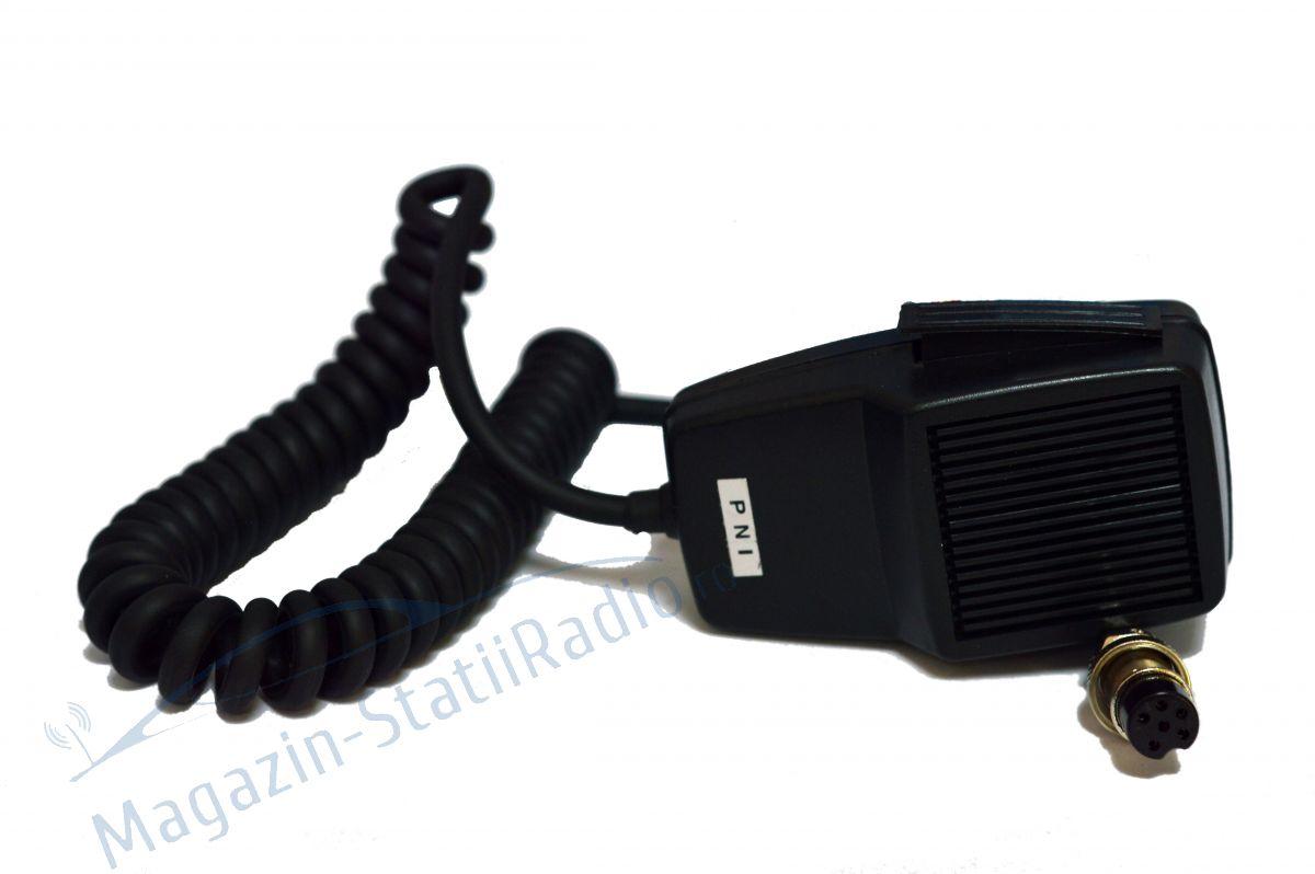 Microfon cu 6 pini pentru statie radio PNI P6