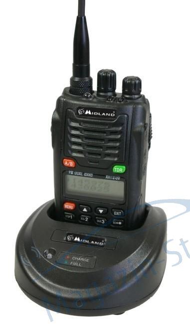 Statie radio VHF/UHF portabila Midland CT790, dual band, 136-174 si 400-470 MHz