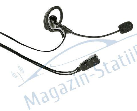 Casti cu microfon cu 1 pin COMPATIBILE CU MIDLAND G5.