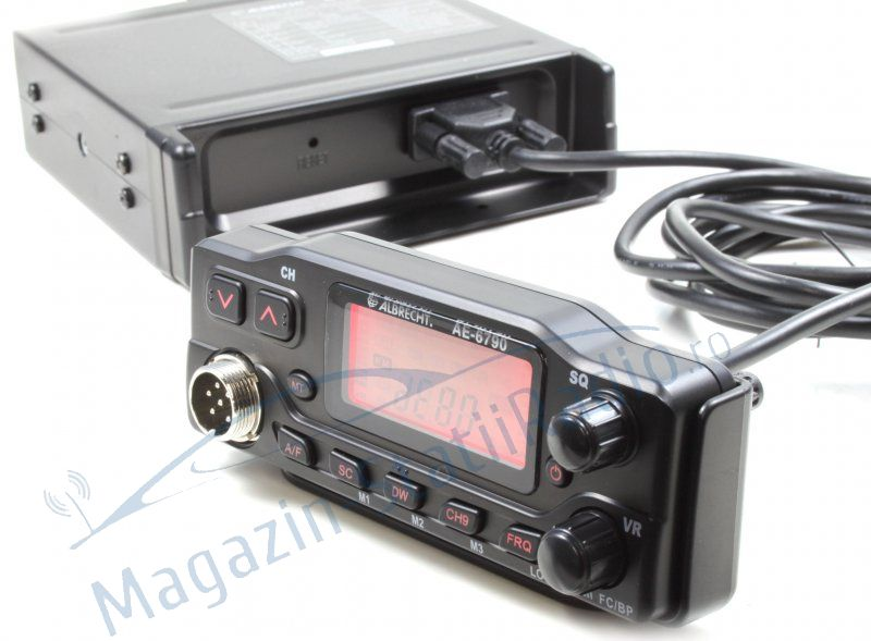 Statie Radio CB Albrecht AE 6790 cu fata detasabila