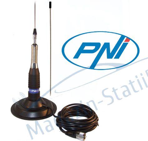 Antena CB PNI ML 160 lungime 145 cm si magnet 145 mm inclus