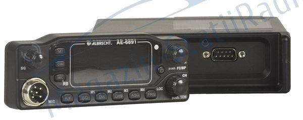 Statie Radio CB Albrecht AE 6891 cu fata detasabila