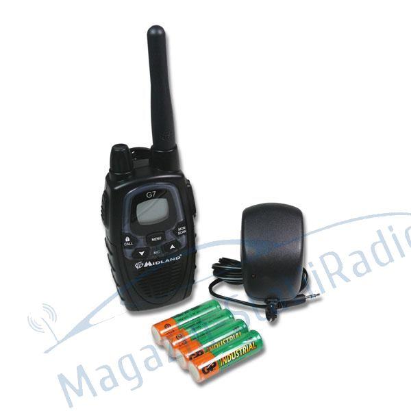 Statie radio PMR portabila Midland G7 XTR Single