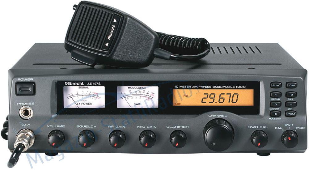 Statie Radio pentru baza sau sediu Albrecht AE497W-banda 10m