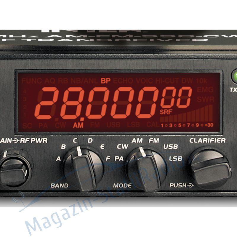 Statie Radioamatori 40W, 28MHz AM-FM-SSB-CW INTEK  HR 5500