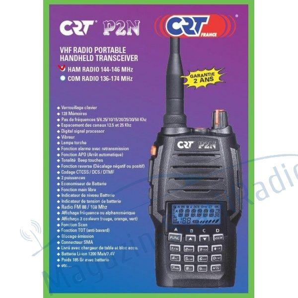 Statie radio portabila banda 2M CRT P2N