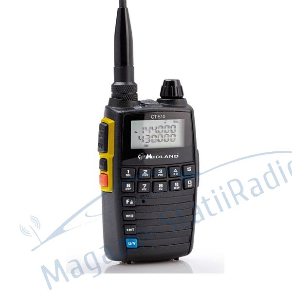 Statie radio VHF/UHF portabila Midland CT510 dual band