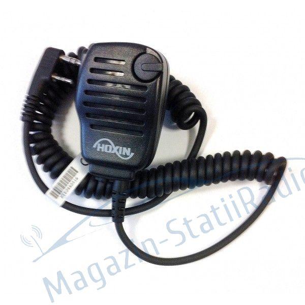 Microfon cu Difuzor cu control de volum HOXIN  em-36k pentru statie profi, COMPATIBIL kenwood TH-F7/K2