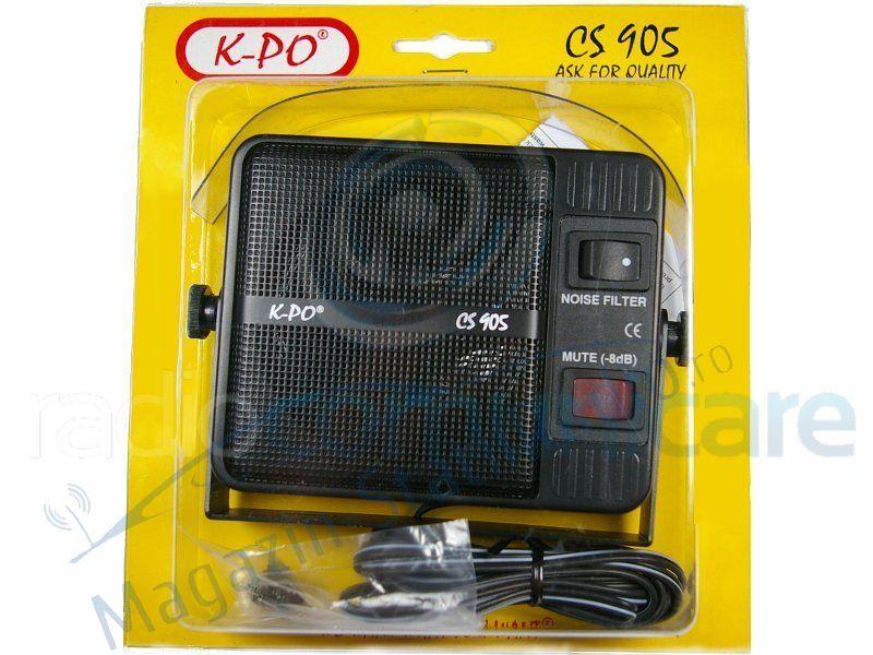 Difuzor Extern K-PO CS-905 Noise Filter, Pentru Statii CB.