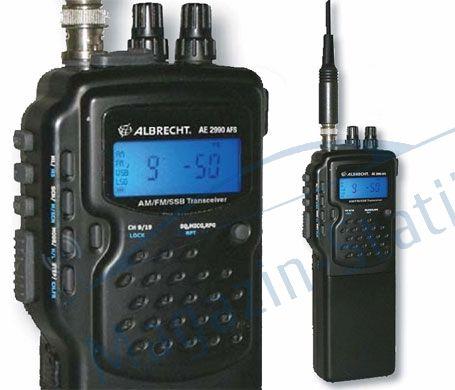Statie Radio Portabila Albrecht AE2990 Banda 10/11m