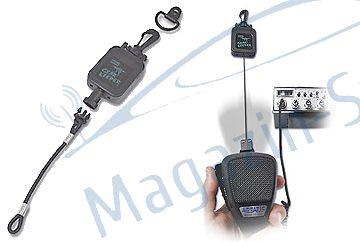 Mecanism retractabil de prindere a microfonului cb