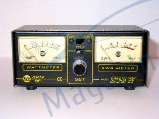 Swrmetru si wattmetru cu afisaj separat ZETAGI MOD - 203