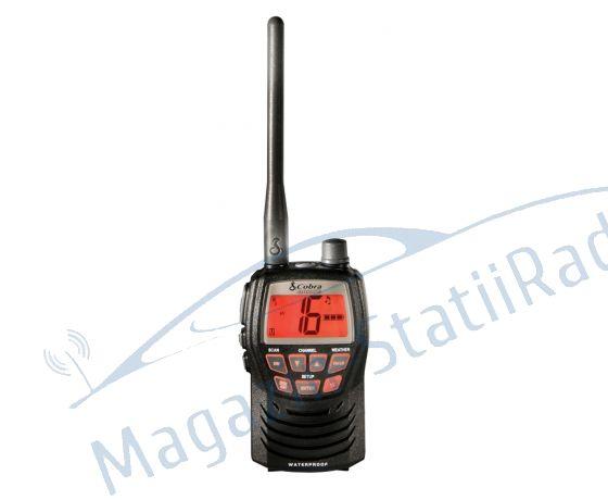 Statie radio receptie emisie Cobra Marine MRHH125