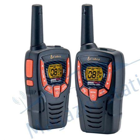 Statie PMR walkie talkie COBRA AM 645, Raza de actiune pana la 8 km