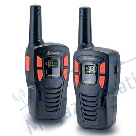 Statie PMR walkie talkie COBRA AM 245, Raza de actiune pana la 5 km