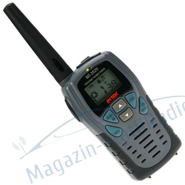 Statie de radio portabila dual-band PMR466, INTEK - MT-2020.
