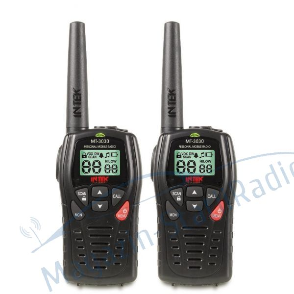 SET: Statie de radio portabila dual-band UHF PMR466, INTEK - MT 3030
