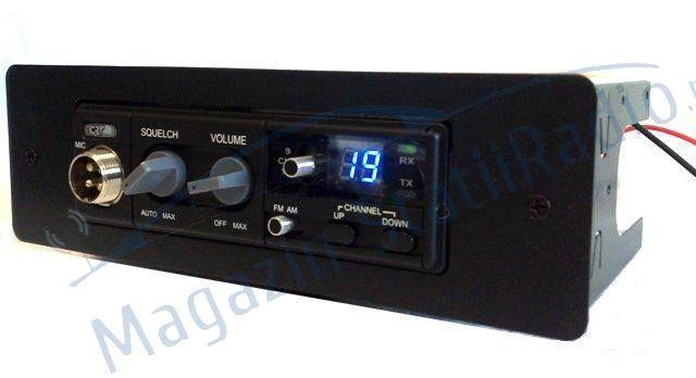 Carcasa/rack pentru montaj profesionist. Speciala pentru statie radio CRT S MINI/ TTI 550/ TTI560/ PNI 8000 ASQ, PNI 8001.