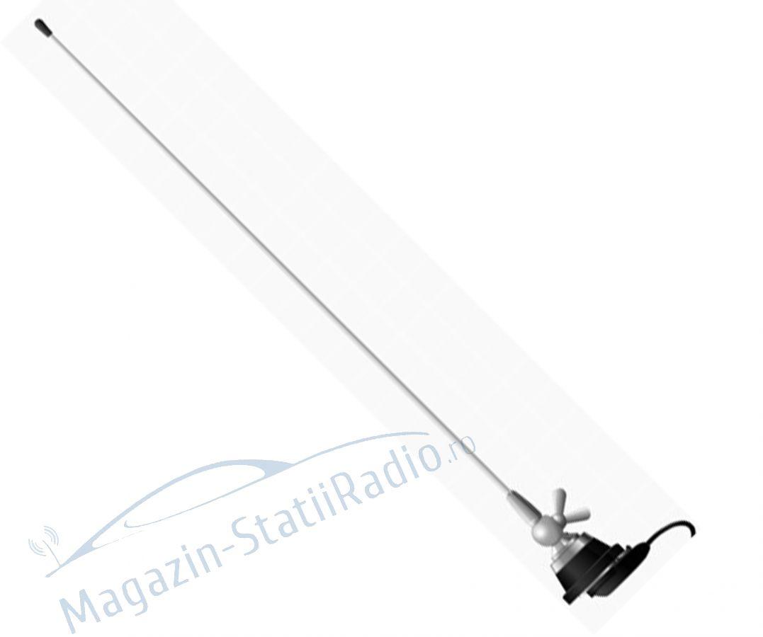 Antena VHF Midland CT-4R pentru Taxi, 144-174MHz, 55cm cu cablu inclus