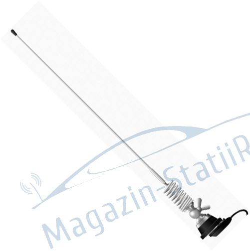 Antena VHF Midland CT-8R pentru Taxi 144-174MHz, 136cm cu cablu inclus MSR100542