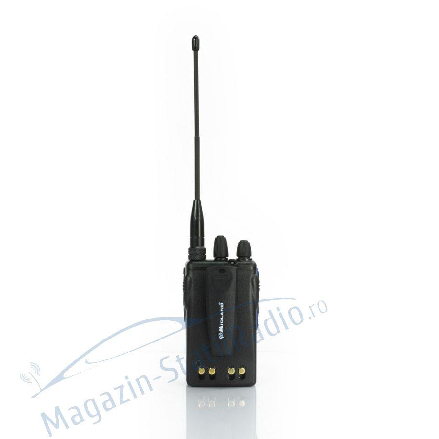 Statie radio VHF portabila Midland CT210, 136-174MHz