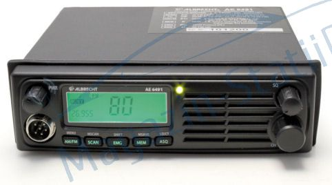Statie radio CB Albrecht AE 6491 convertor automat 12-24V