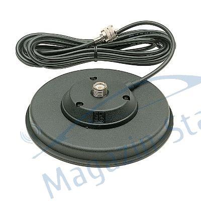 140PL Montura cu magnet cu diametru de 140 mm culoare neagra