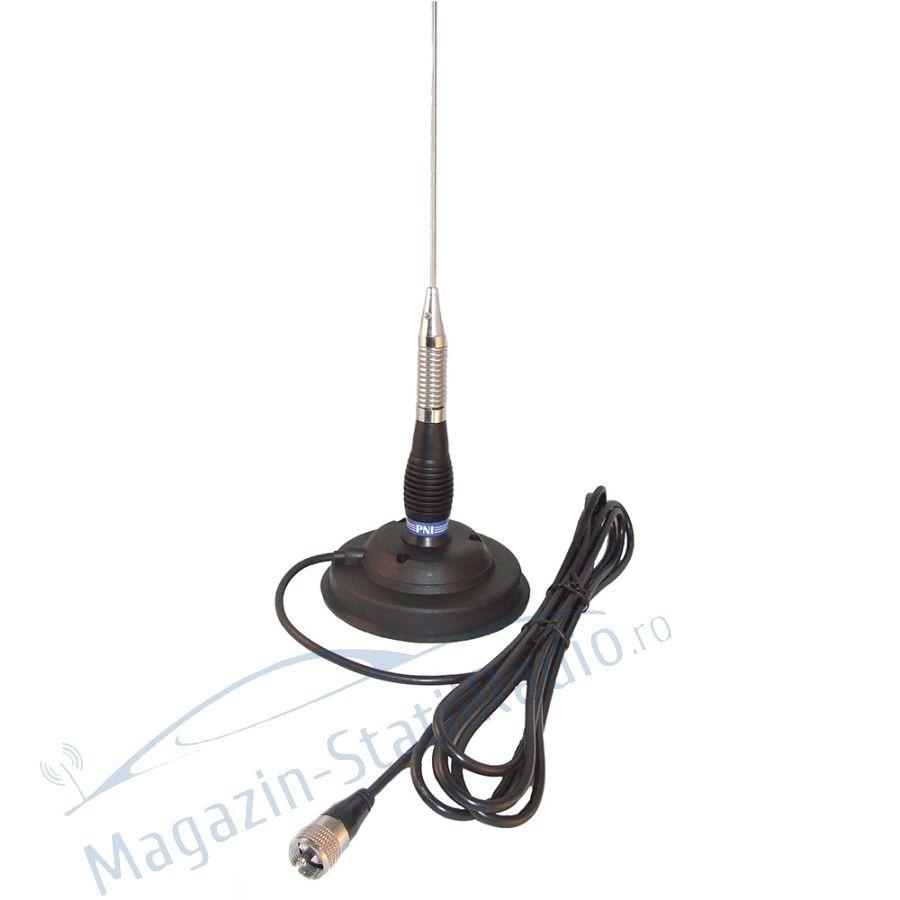 Antena CB PNI ML 100 cu lungime 100 cm si magnet 125mm inclus