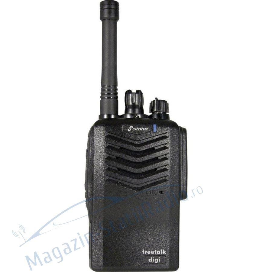 SET 2X Statie radio PMR Profesionala STABO  freetalk digi NOU