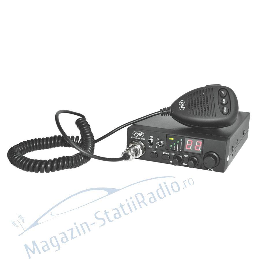 Statie radio CB PNI Escort HP 8000L ASQ, 40 canale AM/FM, ASQ