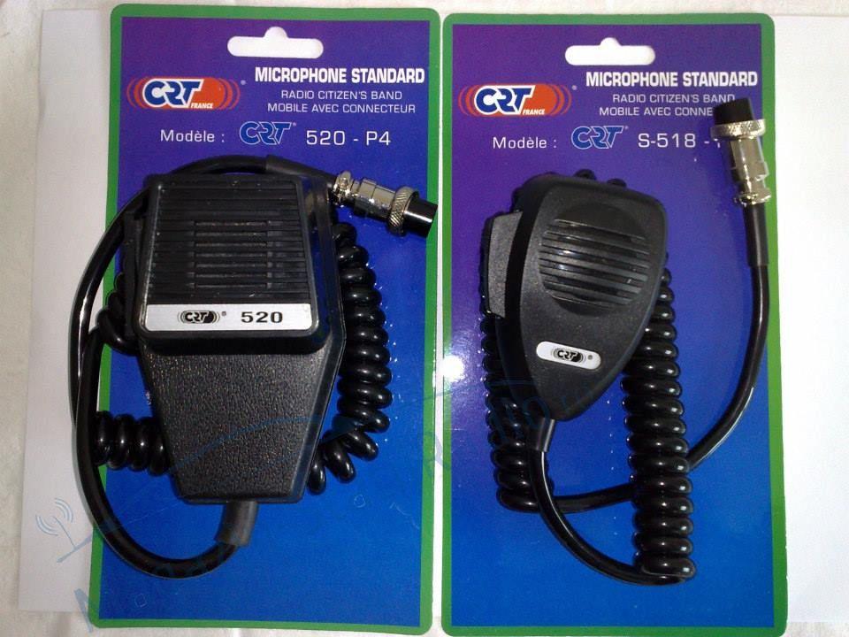 Microfon cu 4 pini pentru statie radio CRT  S 518 P4 compatibil cu TTI550, CRT S mini