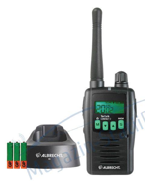 Statie radio PMR portabila Albrecht Tectalk Contact 2