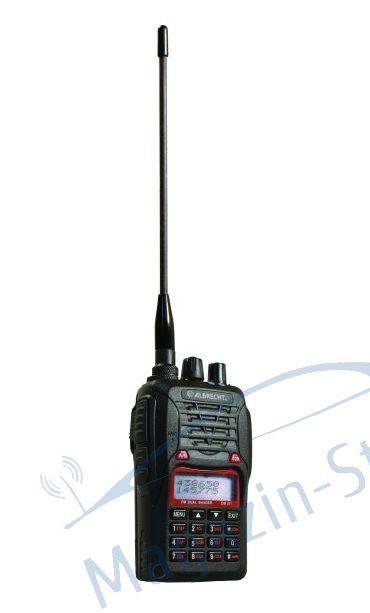 Statie radio VHF/UHF portabila Albrecht DB 271, dual band, 136-174 si 400-470 MHz