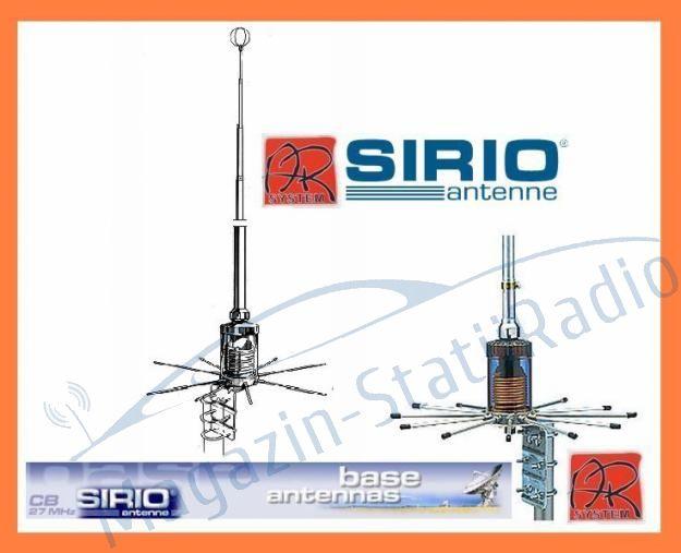 Antena de baza (fixa) de emisie-receptie 27MHz Sirio - SIRIO 2008