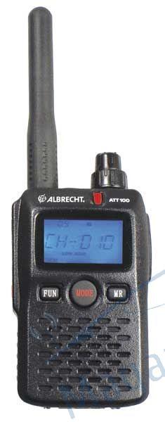 Statie radio portabila Albrecht ATT 100, pentru Ghid turistic