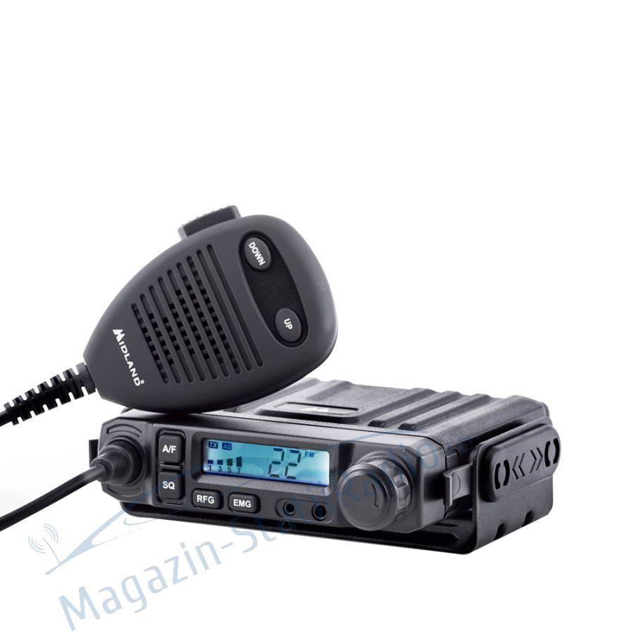 Statie radio CB Midland M-MINI cu mufa de bricheta