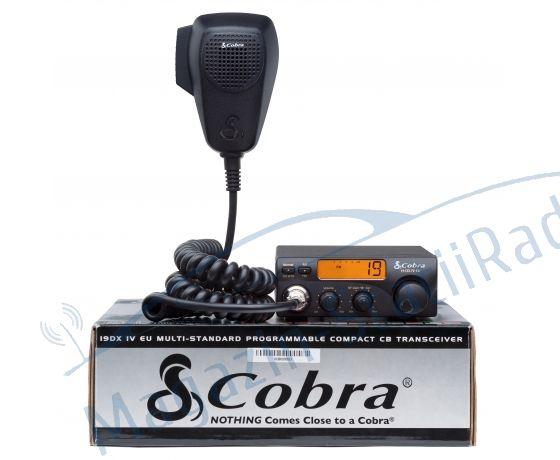Statie Radio CB Cobra 19 DX UV EU, de canale AM/FM