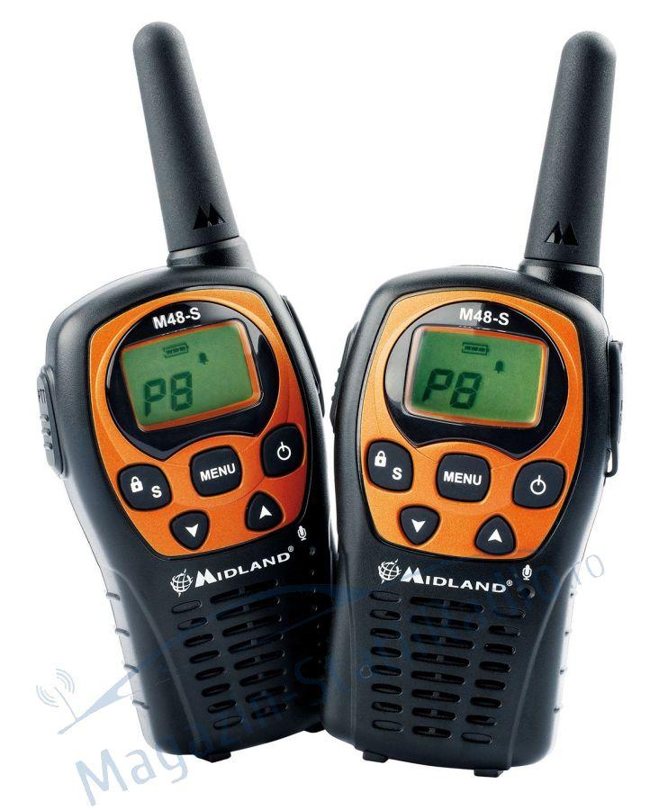 Statie radio PMR portabila Midland M48-S set