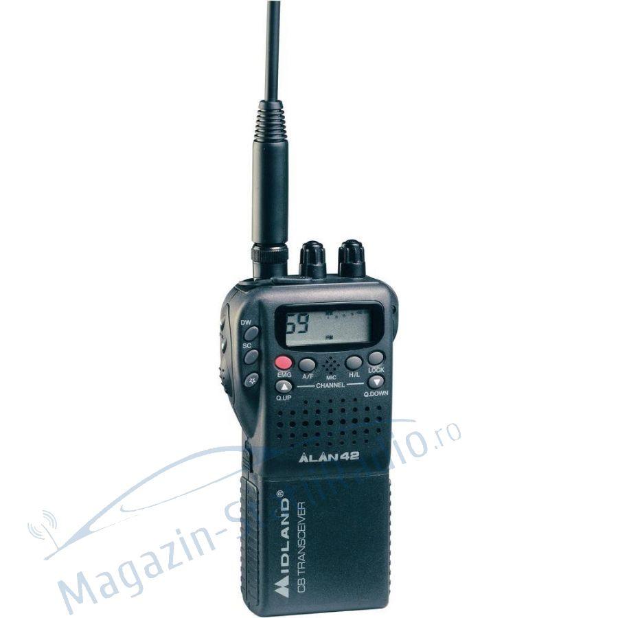 Statie radio CB portabila Midland Alan 42 MULTI