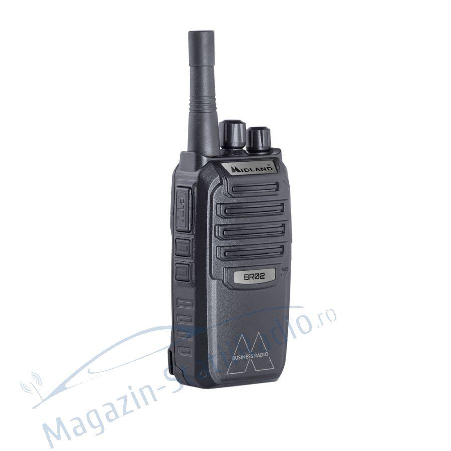 Statie radio PMR  PROFI portabila Midland BR02 Business Radio