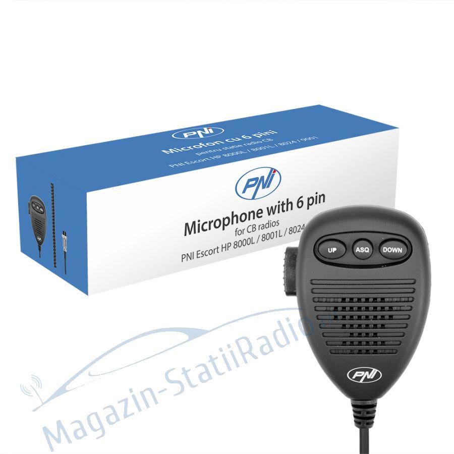 Microfon pentru statii radio PNI Escort HP 8000 / 8001 / 8024 / 9001
