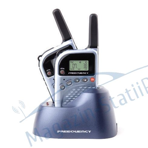 Statie radio PMR portabila TTi PMR-505TX set cu 2 bc