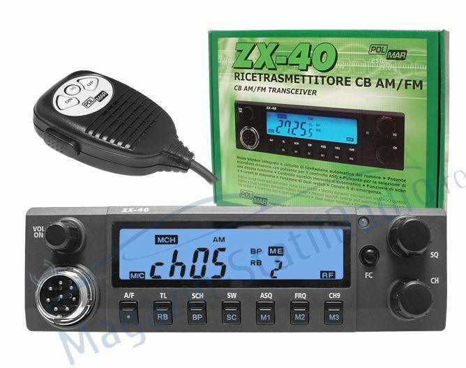 Statie radio CB Polmar ZX-40
