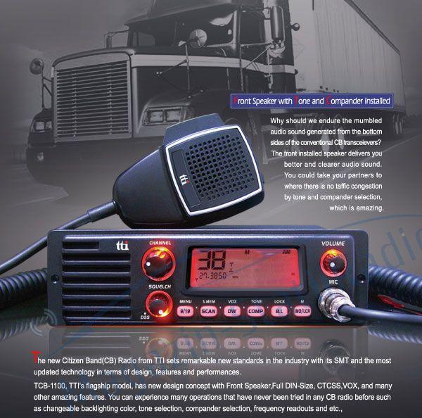 Statie radio CB TTi TCB-1100 cu difuzor frontal